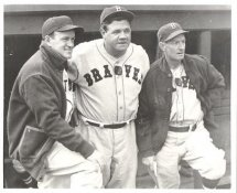 Babe Ruth G1 Limited Stock Rare Braves 8X10 Photo