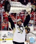Bill Guerin with 2009 Stanley Cup Penguins 8x10 Photo