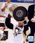Sergei Gonchar with 2009 Stanley Cup Penguins 8x10 Photo