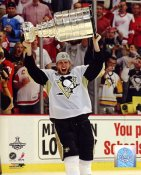 Jordan Staal with 2009 Stanley Cup LIMITED STOCK Penguins 8x10 Photo