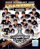 Pittsburgh 2009 Penguins Stanley Cup Champions 8x10 Photo
