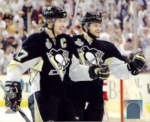Chris Kunitz & Sidney Crosby Game 4 Stanley Cup Finals 2009 Penguins 8x10 Photo
