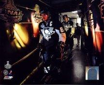 Evgeni Malkin & Sidney Crosby Game 4 Stanley Cup Finals 2009 Penguins 8x10 Photo