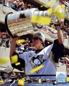 Marc-Andre Fleury with 2009 Stanley Cup at Parade Penguins 8x10 Photo