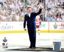 Mario Lemieux Ceremonial Puck Drop Game 3 Stanley Cup Finals 2009 Pittsburgh Penguins 8x10 Photo