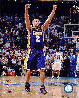 Derek Fisher Game 4 NBA Finals 2009 Los Angeles Lakers 8x10 Photo LIMITED STOCK