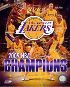 Lakers 2009 Team NBA Champs 8x10 Photo LIMITED STOCK