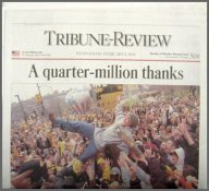 Steelers 2006 Parade Super Bowl 40 Parade Newspaper Pittsburgh