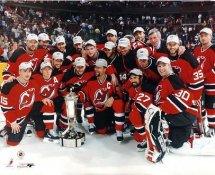 Devils New Jersey Team Celebration Wales Conference Champions On Ice 8x10 Photo LIMITED STOCK