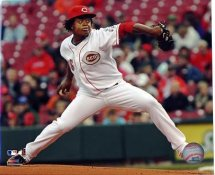 Edinson Volquez LIMITED STOCK Cincinatti Reds 8X10 Photo