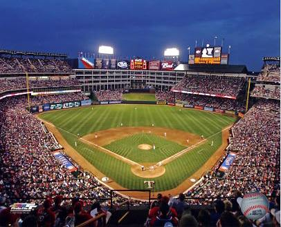 N2 Ballpark in Arlington Texas Rangers 8X10 Photo