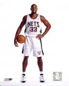 Alonzo Mourning New Jersey Nets 8X10 Photo