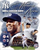 Mariano Rivera 500th Save Composite New York Yankees LIMITED STOCK 8X10 Photo