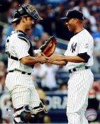 Jorge Posada & Mariano Rivera 500th Save New York Yankees LIMITED STOCK 8X10 Photo