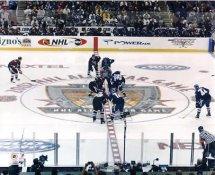 Vincent Damphousse, Chris Pronger, Brendan Shanahan & Jaromir Jagr 2002 Allstar Game in LA 8x10 Photo