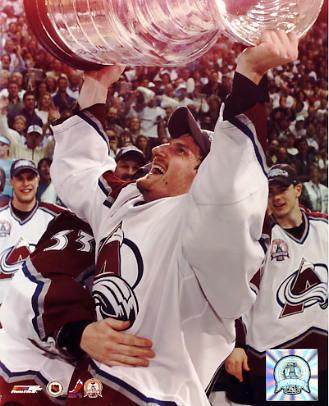 Milan Hejduk 2001 Stanley Cup Colorado Avalanche 8x10 Photo