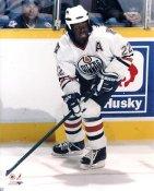 Anson Carter Edmonton Oilers 8x10 Photo