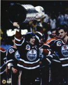 Mark Messier LIMITED STOCK 1990 Stanley Cup Edmonton Oilers 8x10 Photo