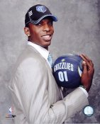 Hasheem Thabeet 2009 Draft Memphis Grizzlies 8X10 Photo LIMITED STOCK