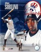 Alfonso Soriano G1 Limited Stock Rare Yankees 8X10 Photo