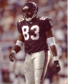 Alge Crumpler G1 Limited Stock Rare Falcons 8X10 Photo