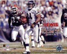 Jamal Lewis G1 Limited Stock Rare Ravens 8X10 Photo
