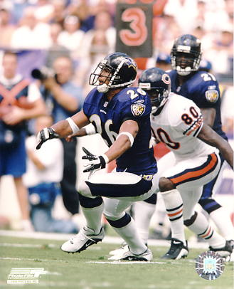 Rod Woodson G1 Limited Stock Rare Ravens 8X10 Photo