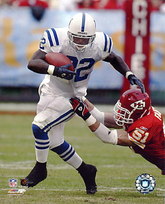 Edgerrin James G1 Limited Stock Rare Colts 8X10 Photo
