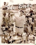Babe Ruth Legends Composite New York Yankees 8X10 Photo