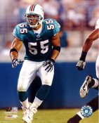 Junior Seau G1 Limited Stock Rare Dolphins 8X10 Photo