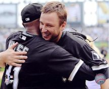 Mark Buehrle & Dewayne Wise Perfect Game 7/23/09 LIMITED STOCK Chicago White Sox 8X10 Photo