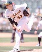 Trevor Cahill Oakland A's 8X10 Photo