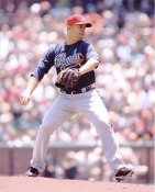 Javier Vazquez Braves 8X10 Photo