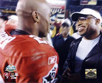 Ronde Barber & Tiki Barber G1 Limited Stock Rare Buccaneers 8X10 Photo