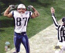 David Givens Super Bowl 39 TD Patriots 8X10 Photo