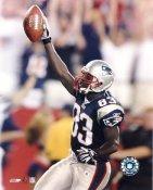 Deion Branch LIMITED STOCK New England Patriots 8X10 Photo