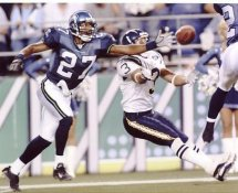 Willie Williams Seattle Seahawks 8X10 Photo