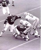 John Brockington Packers Dick Butkus Bears 8X10 Photo
