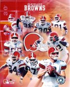 Browns 2003 Cleveland Team  8X10 Photo