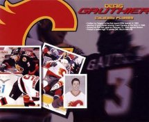 Denis Gauthier Calgary Flames G1 LIMITED STOCK RARE 8X10 Photo