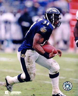 Jamal Lewis Baltimore Ravens 8X10