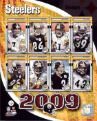 Steelers 2009 Pittsburgh Team LIMITED STOCK 8x10 Photo