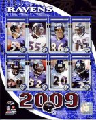 Ravens 2009 Baltimore Team 8x10 Photo