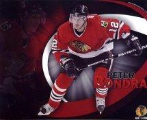Peter Bondra Blackhawks G1 LIMITED STOCK RARE 8X10 Photo