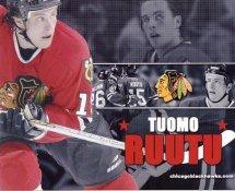 Tuomo Ruutu Blackhawks G1 LIMITED STOCK RARE 8X10 Photo