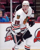 Michael Blunden Blackhawks G1 LIMITED STOCK RARE 8X10 Photo