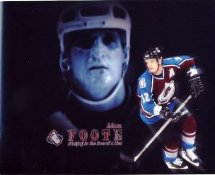 Adam Foote Colorado Avalanche G1 LIMITED STOCK RARE 8X10 Photo