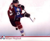 Milan Hejduk  Colorado Avalanche G1 LIMITED STOCK RARE 8X10 Photo