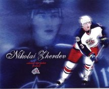 Nikolai Zherdev Blue Jackets G1 LIMITED STOCK RARE 8X10 Photo