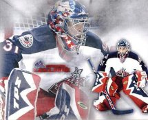 Pascal Leclaire Blue Jackets G1 LIMITED STOCK RARE 8X10 Photo